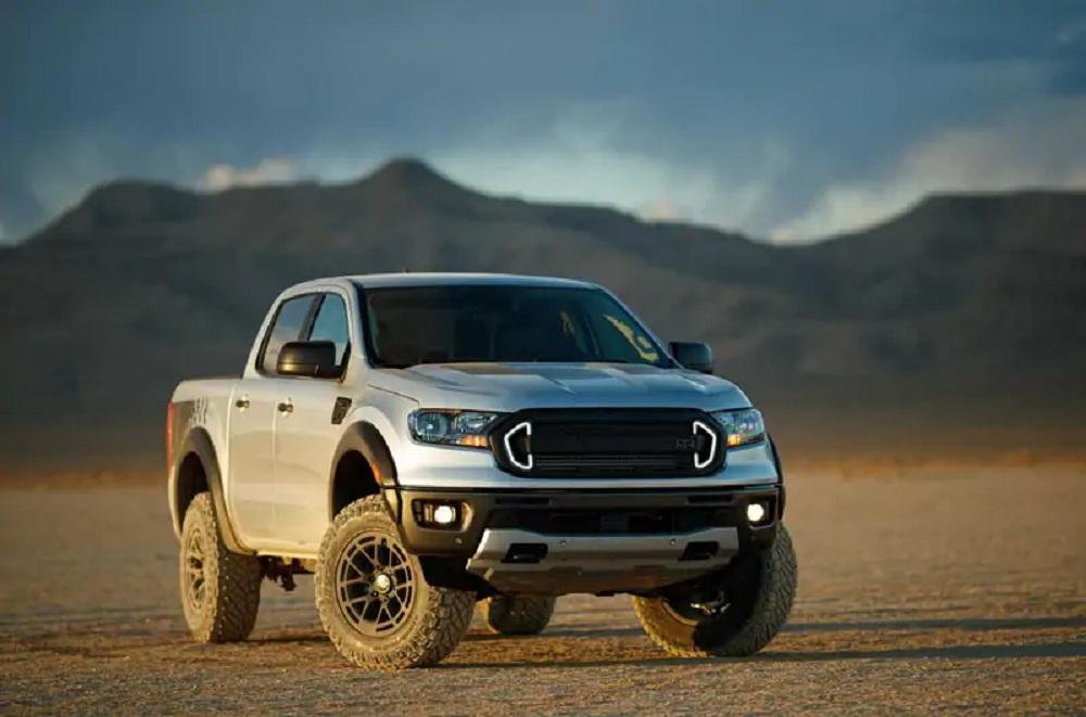 2020 Ford Ranger RTR parked in desert