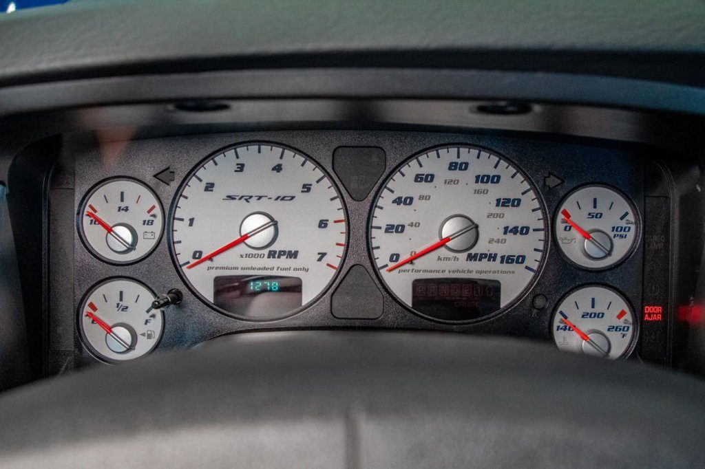 2004 Dodge Ram SRT-10 gauges