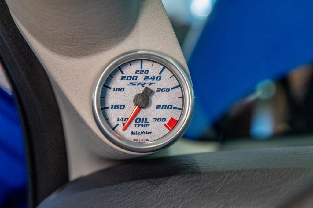 2004 Dodge Ram SRT-10 oil temperature gauge
