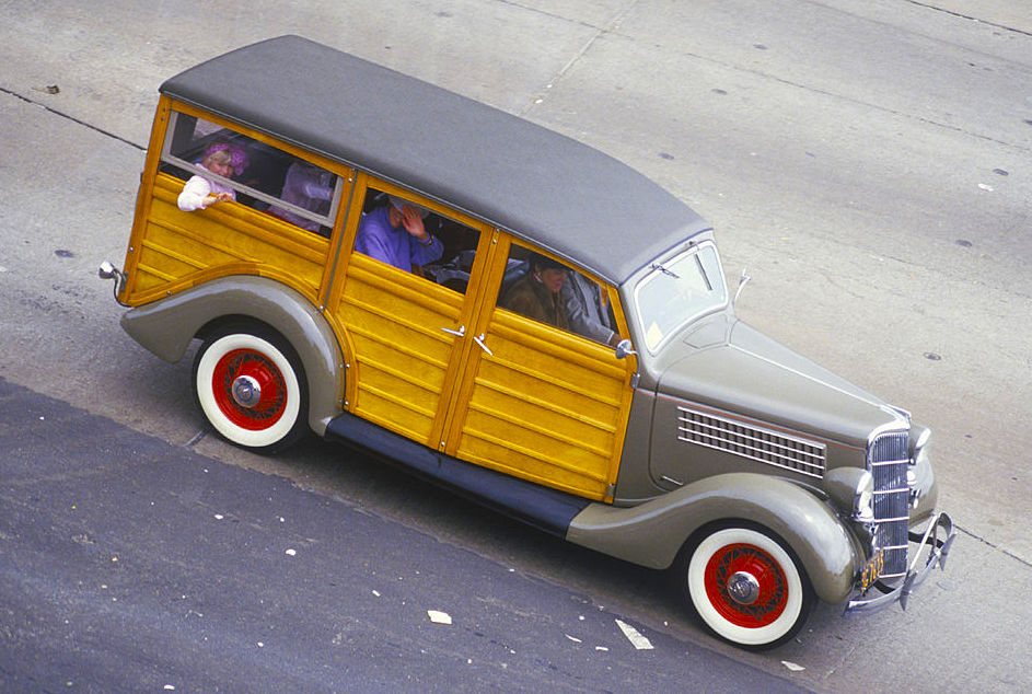 1936 Ford station wagon | Getty