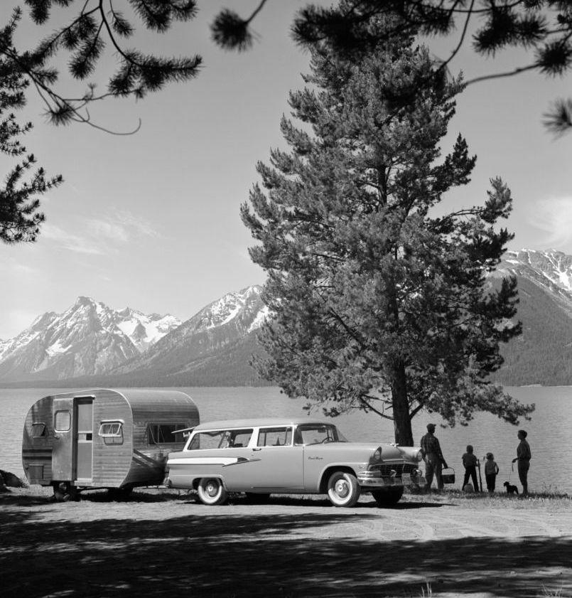 1956 Ford Ranch Wagon | Getty