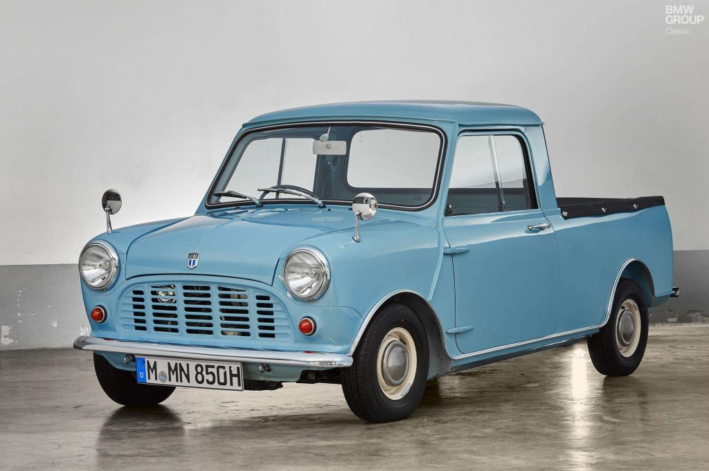 1961 Mini pickup truck
