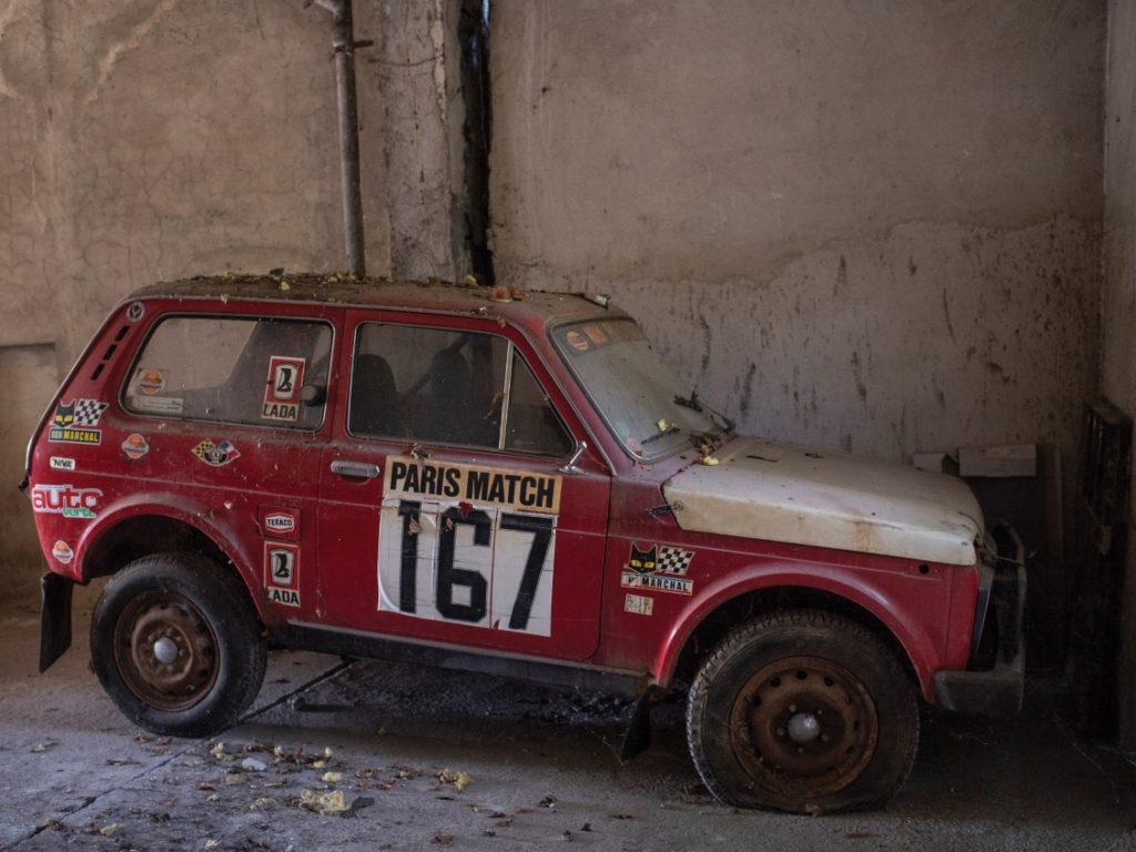 1981 Paris-Dakar Lada Niva