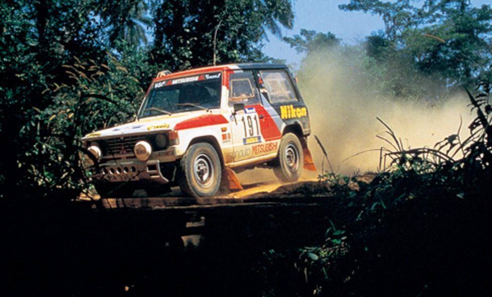 1985 Paris-Dakar Mitsubishi Pajero