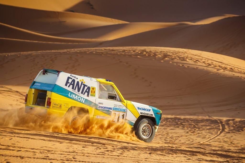 1987 Nissan Patrol Paris-Dakar rally SUV