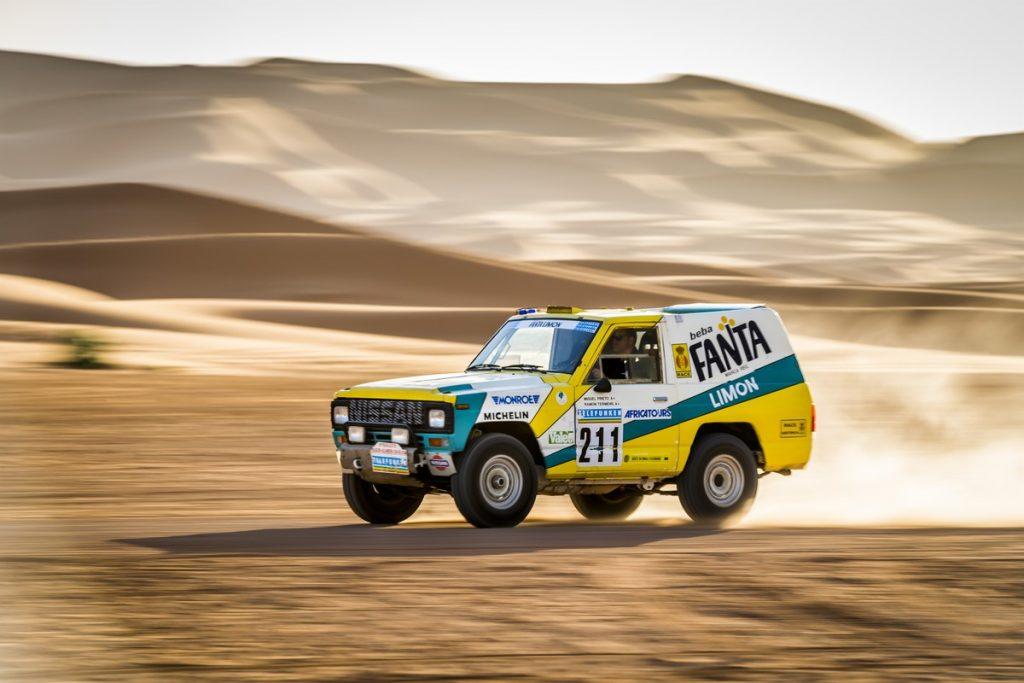 1987 Nissan Patrol Paris-Dakar rally car