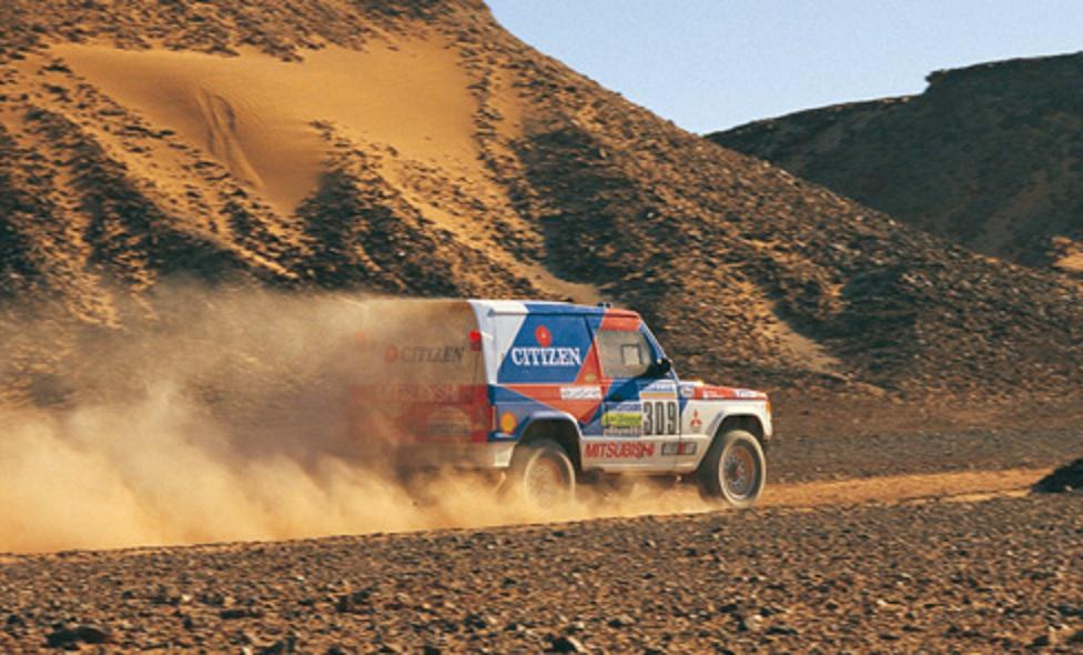 1987 Paris-Dakar Mitsubishi Pajero
