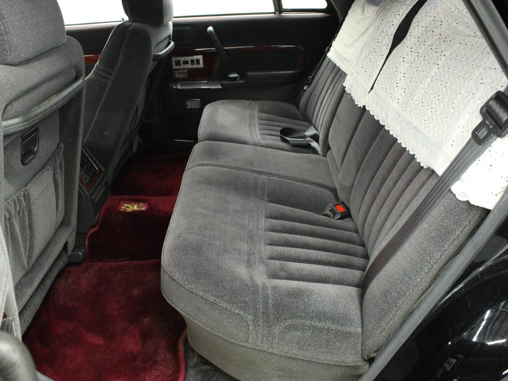1991 Toyota Century interior rear