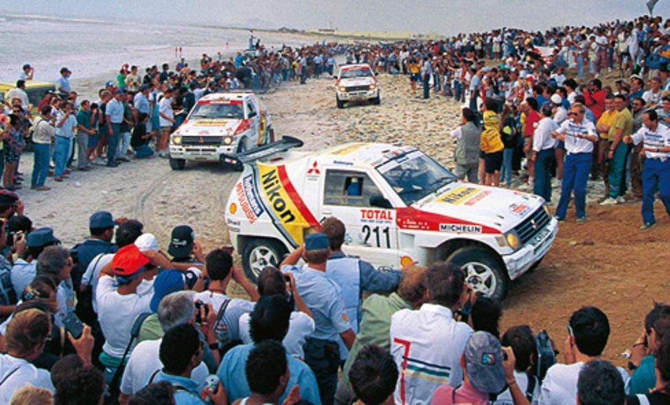 1992 Paris-Dakar Mitsubishi Pajero
