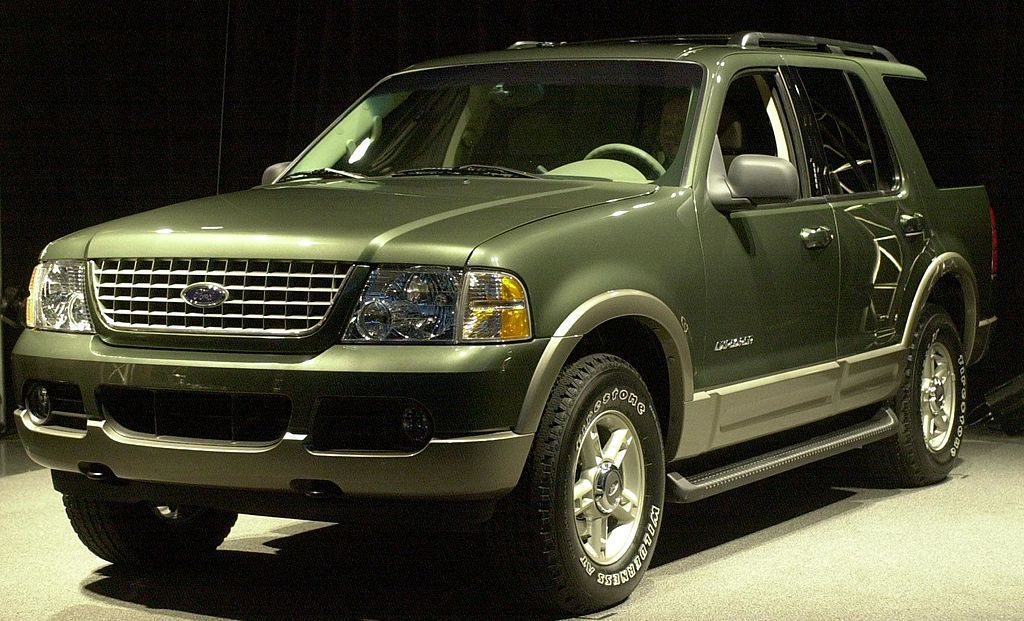 Green 2002 Ford Explorer