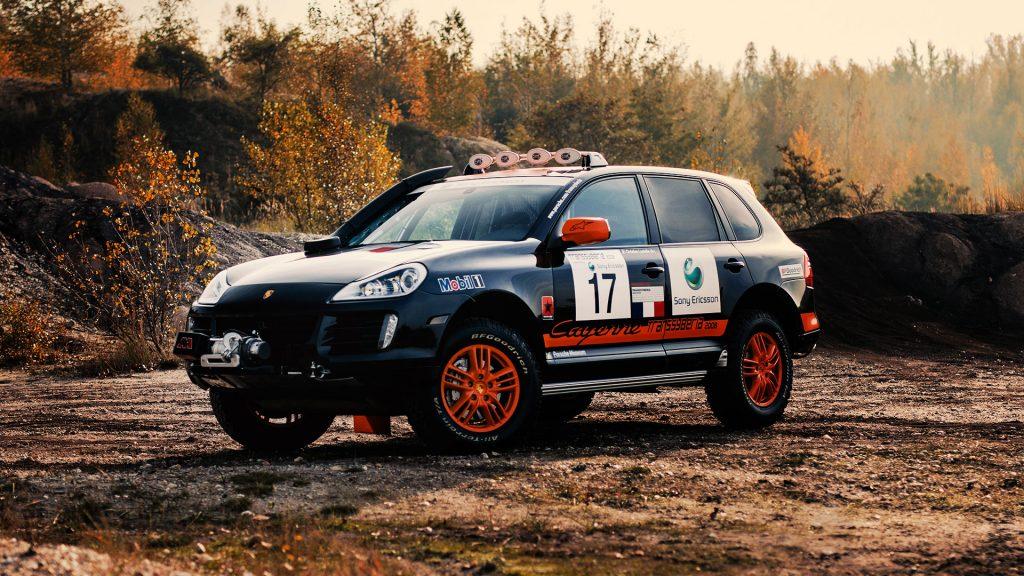 2008 Porsche Cayenne Transsyberia