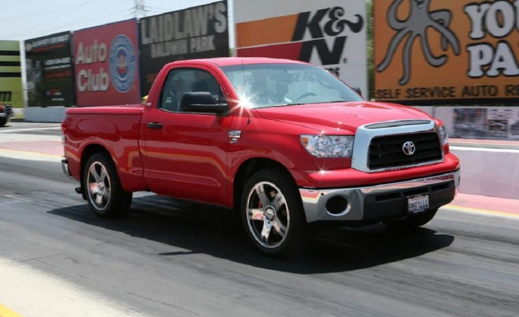 2009 Toyota Tundra TRD Supercharged side
