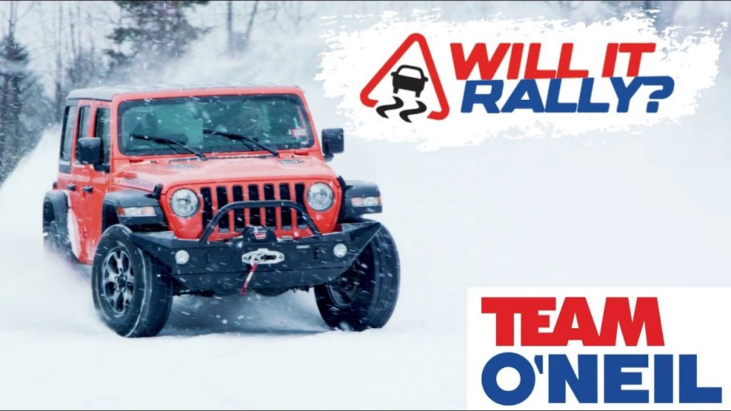 2018 Jeep Wrangler Unlimited Rubicon at Team O'Neil Rally School