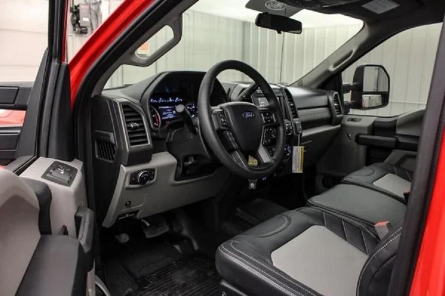 2019 Ford F-250 Baja 1000 interior front