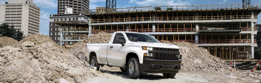 2020 Chevrolet Silverado 1500 WT single cab