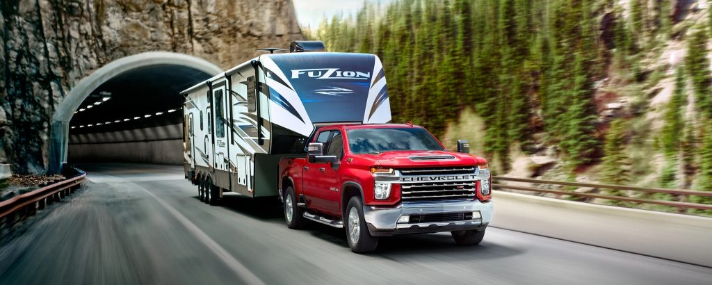 2020 Chevrolet Silverado 2500HD LTZ Z71 with trailer