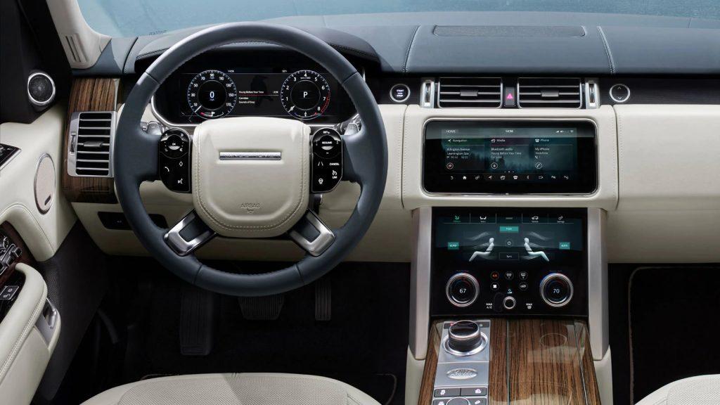2020 Land Rover Range Rover interior