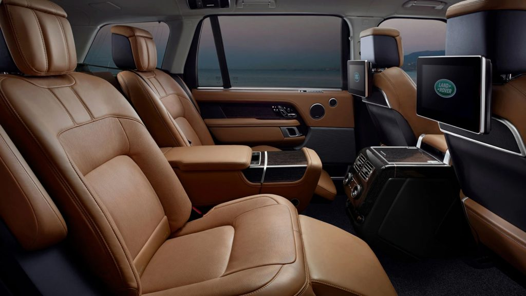 2020 Land Rover Range Rover rear seat