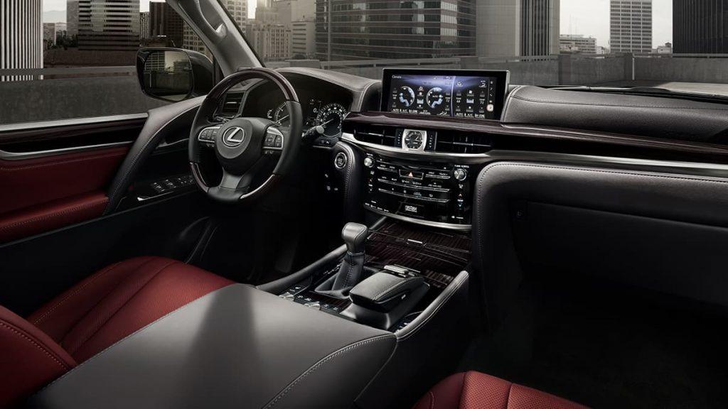 2020 Lexus LX570 interior