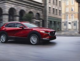 2020 Mazda CX-30 driving down street