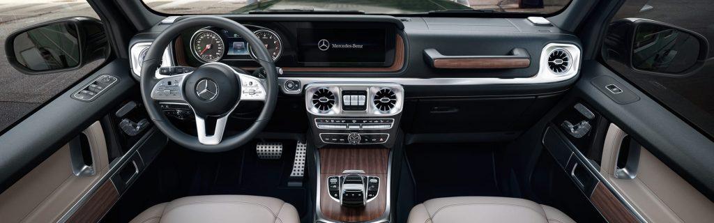 2020 Mercedes-Benz G-Class interior