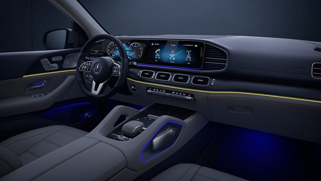 2020 Mercedes-Benz GLS interior