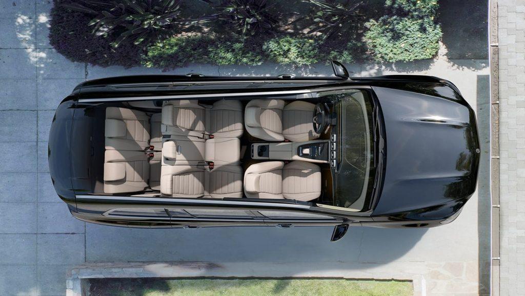 2020 Mercedes-Benz GLS interior overhead
