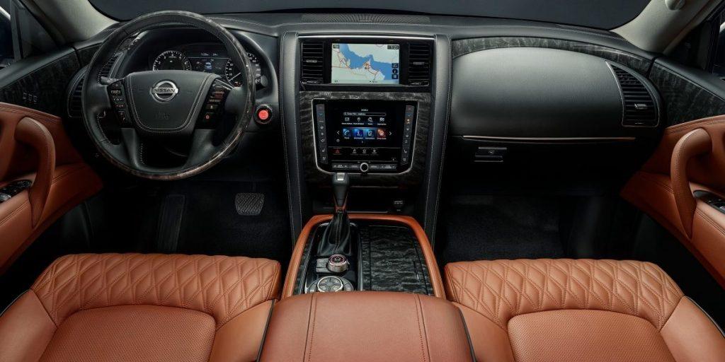 2020 Nissan Patrol interior
