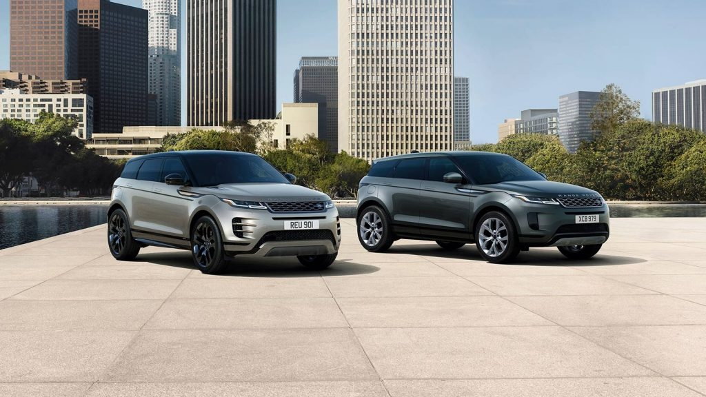 2020 Range Rover Evoque R-Dynamic and Range Rover Evoque