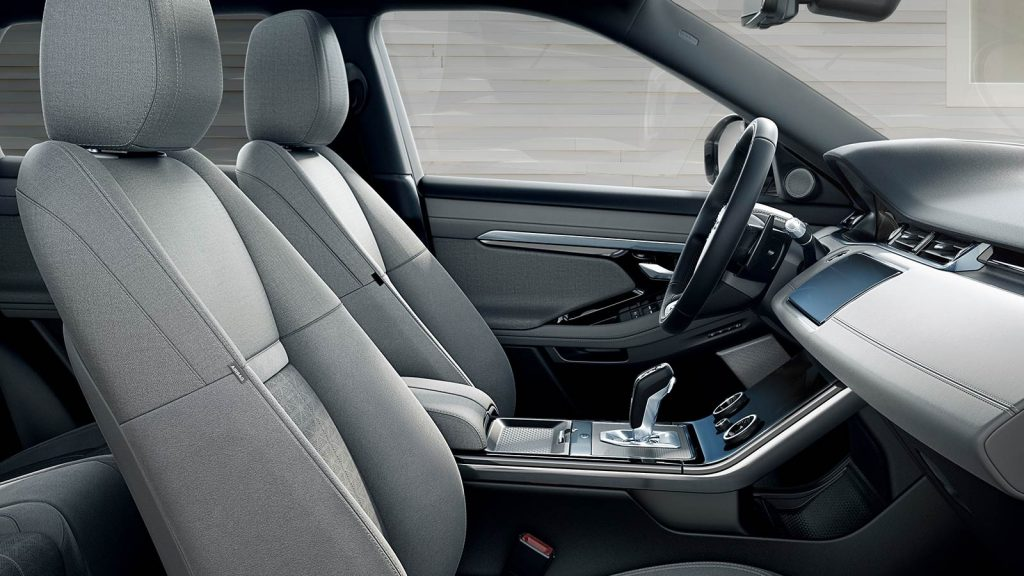 2020 Range Rover Evoque interior side