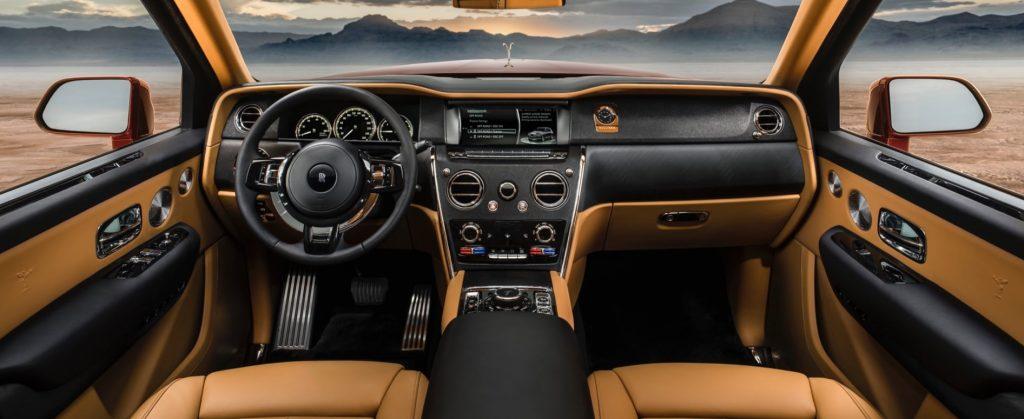 2020 Rolls-Royce Cullinan interior front