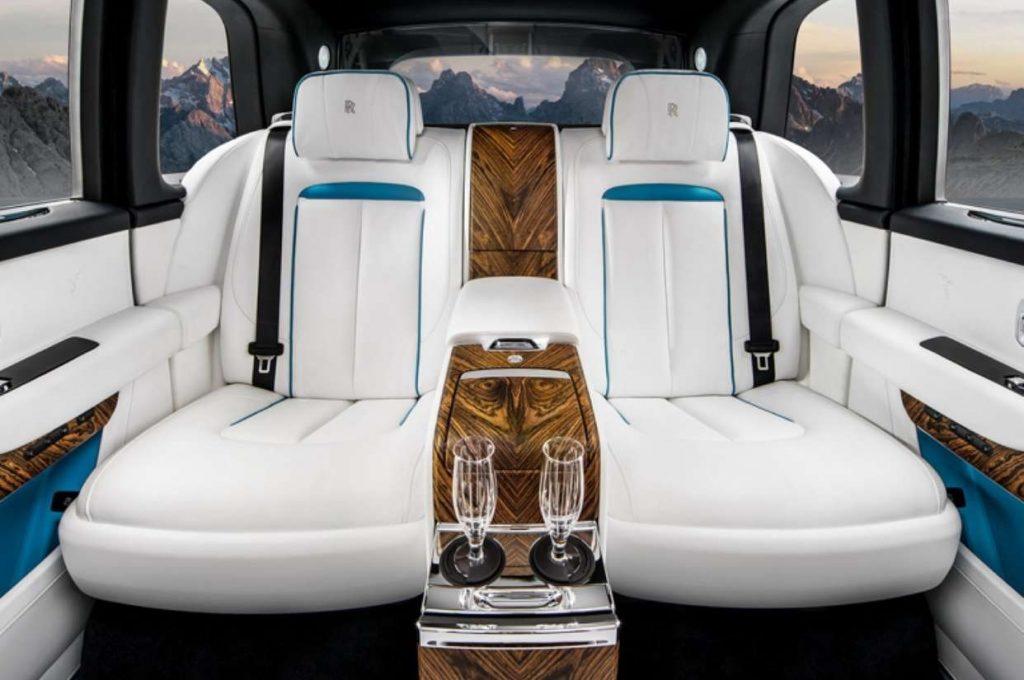 2020 Rolls-Royce Cullinan interior rear