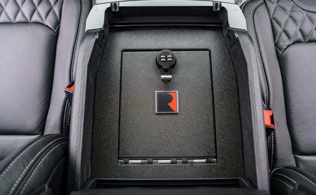 2020 Roush Ford F-150 console vault