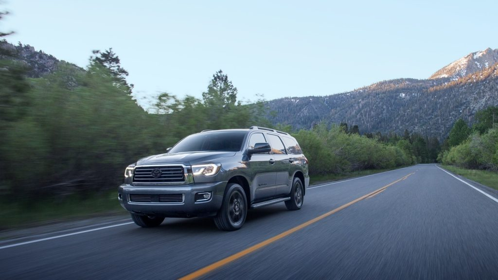 2020 Toyota Sequoia on-road