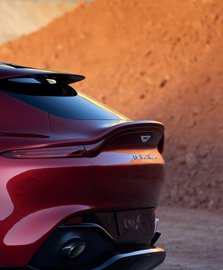 2021 Aston Martin DBX Tailgate