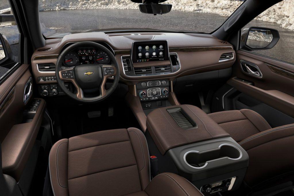 2021 Chevrolet Suburban Interior