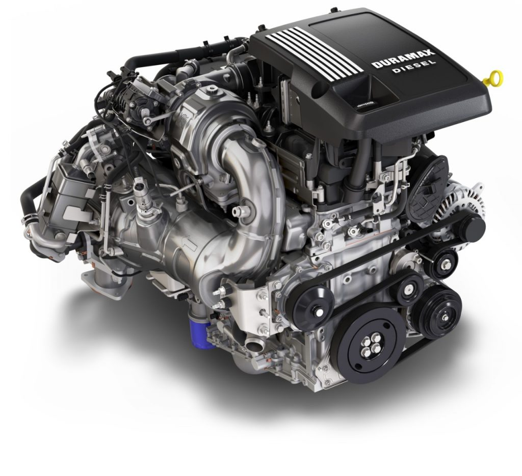3.0L Duramax turboesel engine