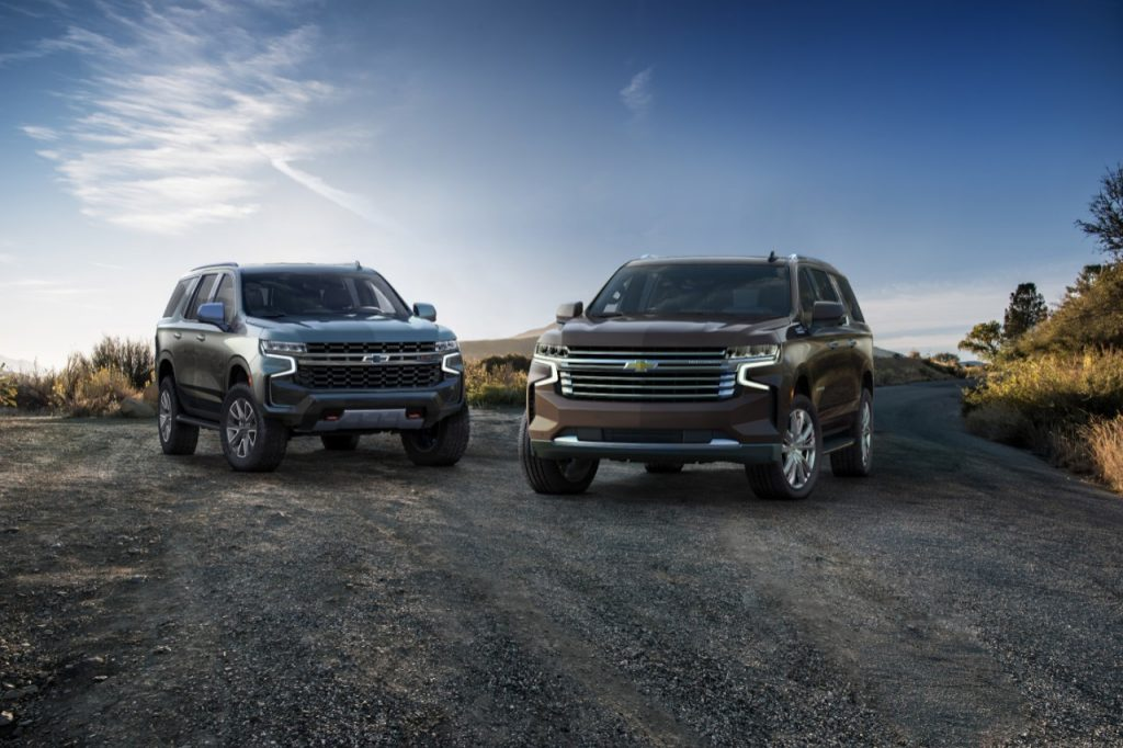 2021 Chevrolet Tahoe Z71 and Suburban High Country