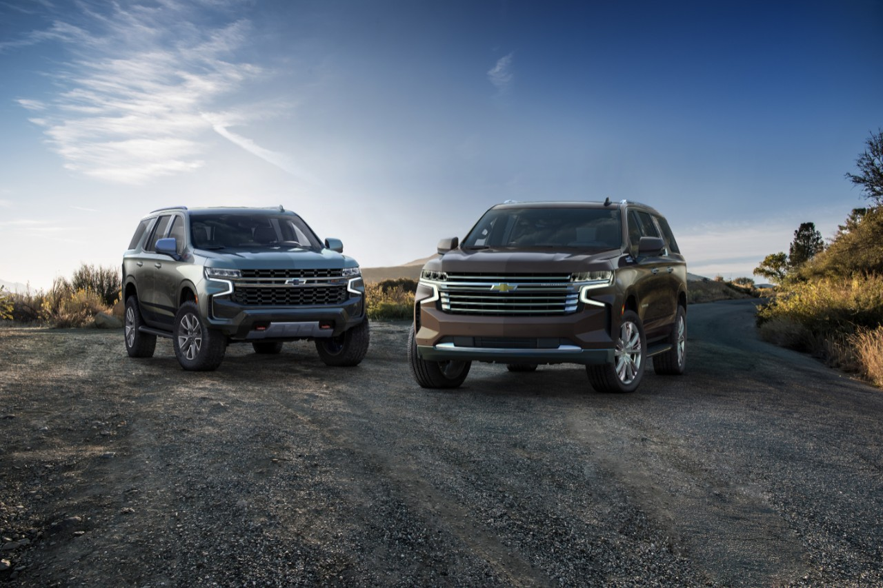 2021 Chevy Tahoe and Suburban Have Faces Only a Silverado ...