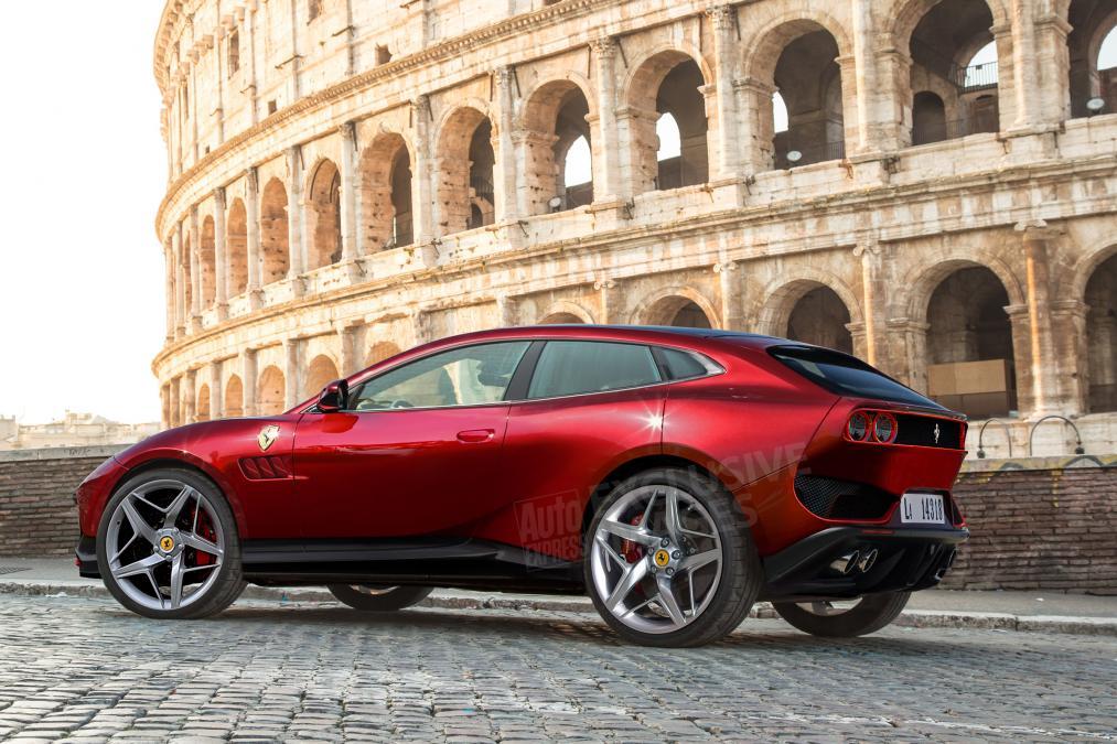 2021 Ferrari SUV concept | Auto Express UK-0