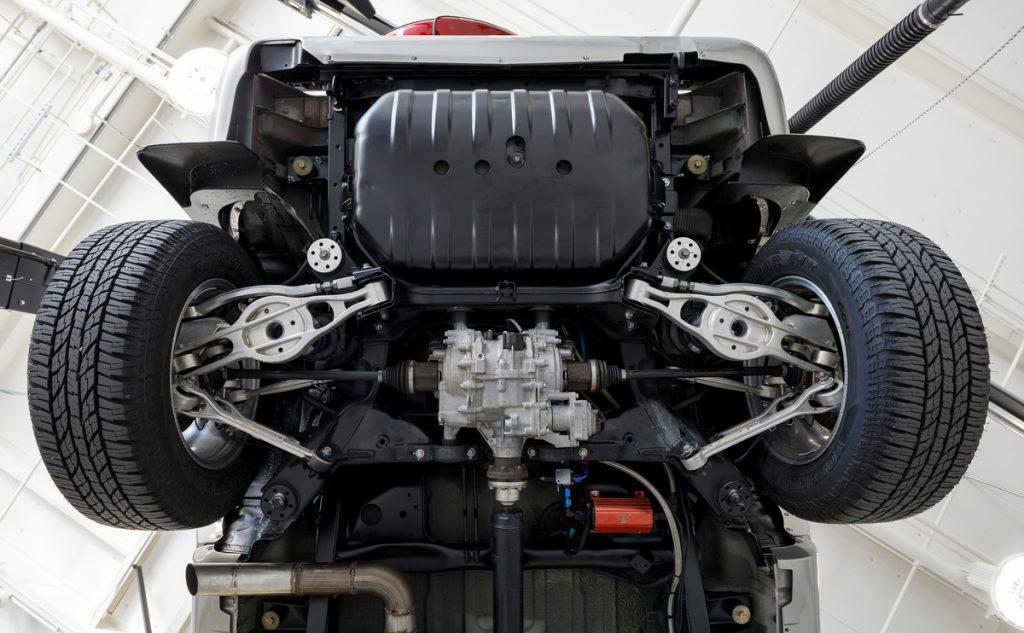Acura 1997 SLX restomod rear subframe