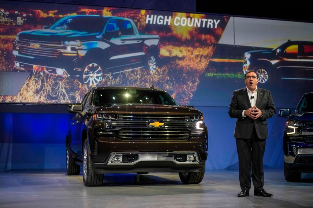 The 2019 Chevy Silverado 1500 unveiled