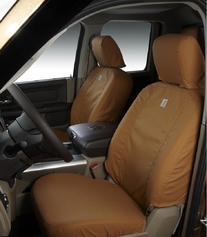 Carhartt Brown seat covers
