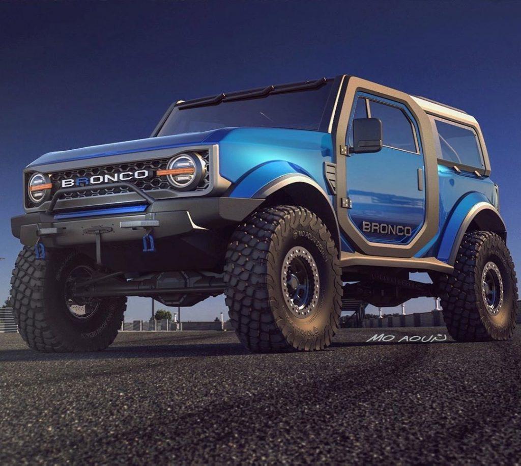 Ford Bronco moaoun_moaoun render