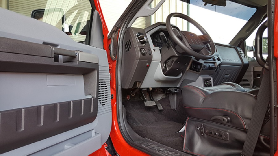 Ford F-650 SuperTruck interior front