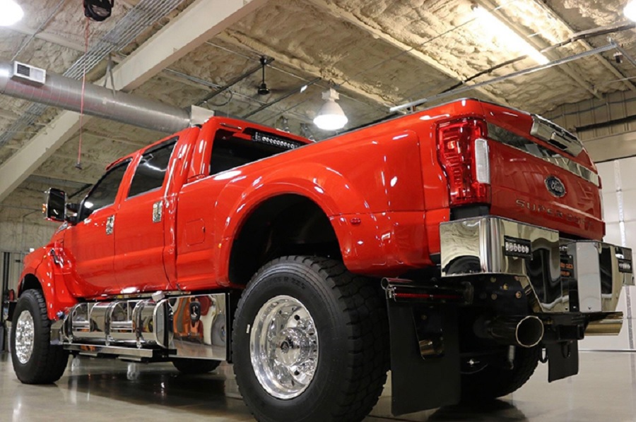 Ford F-650 SuperTruck rear