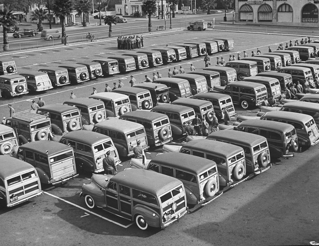 woodies station wagons