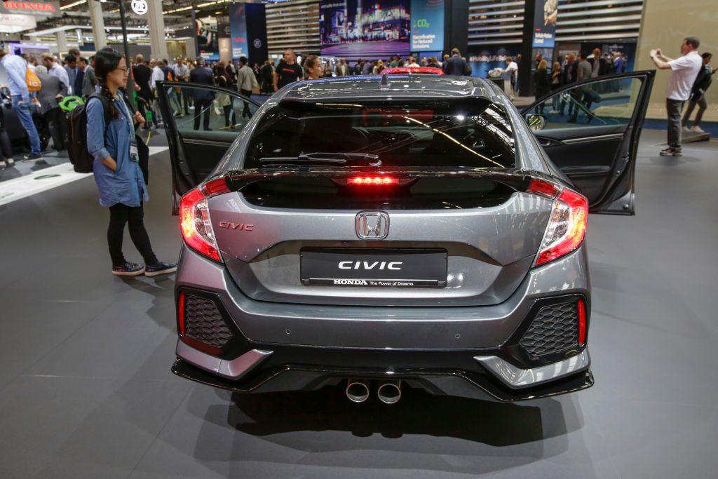 Honda Civic on display
