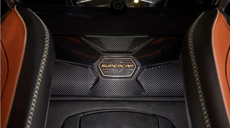 Lamborghini Sian close-up