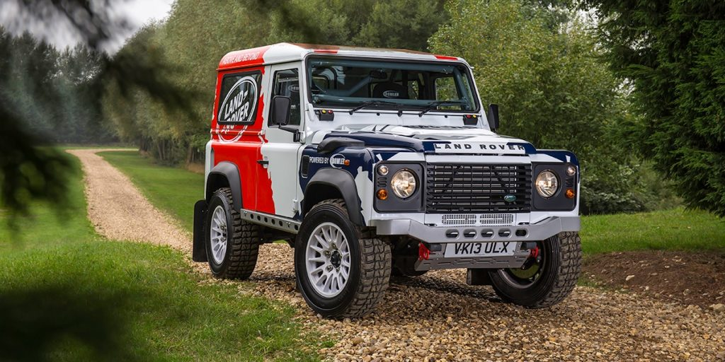 Land Rover Defender modified by Bowler